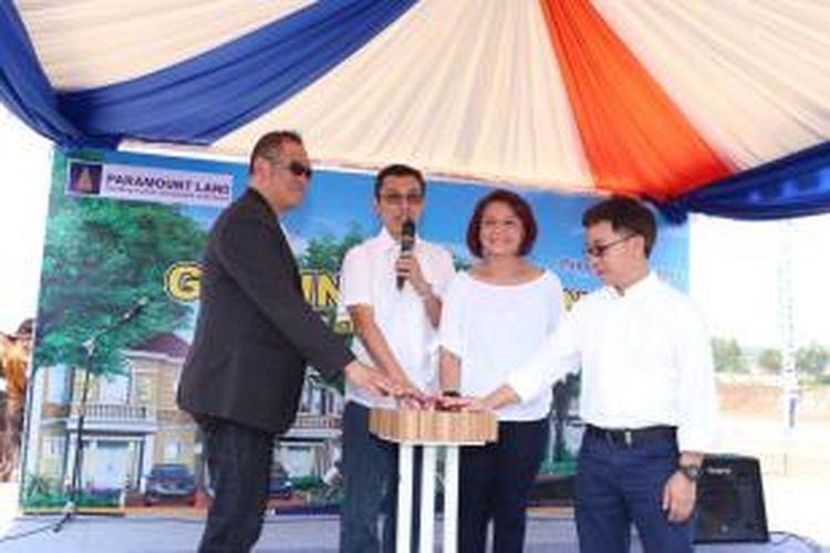 Paramount Land melakukan pemancangan pertama pembangunan Paramount Village dan kawasan komersial Paramount Square di Simongan, Semarang, Jawa Tengah, Kamis (16/9/2015).