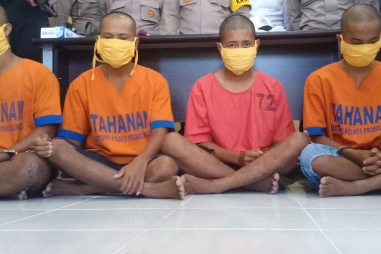 Keempat pelaku pengeroyokan anggota TNI Angkatan Laut terancam penjara maksimal lima tahun.