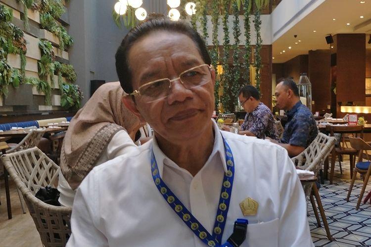 Direktur Utama Perum Pengangkutan Penumpang Djakarta (PPD) Pande Putu Yasa di kawasan Kebon Sirih, Jakarta Pusat, Rabu (16/10/2019).