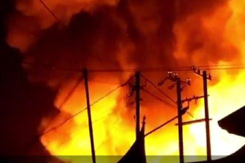 4 Fakta Kebakaran di Pasar Lubuk Alung, 142 Kios Terbakar hingga Api Diduga Berasal dari Salon