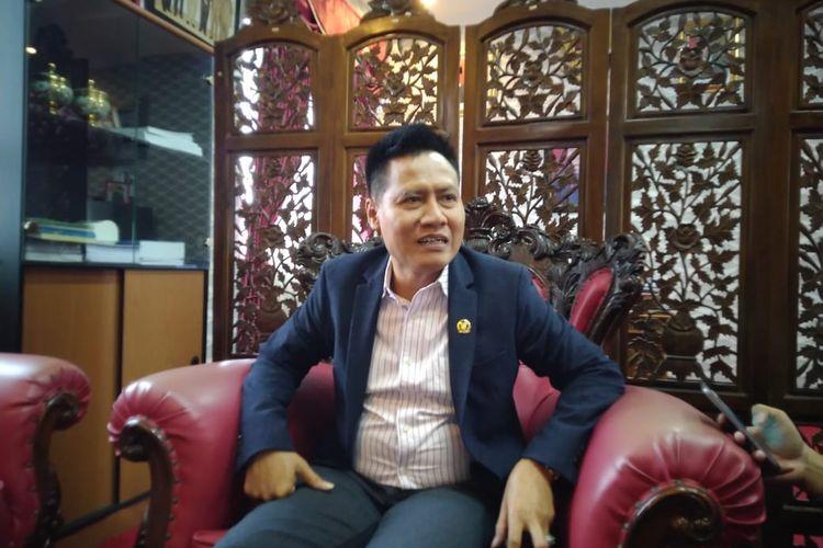 Siswadi saat ditemui di ruang kerjanya Kantor DPRD Samarinda Jalan Basuki Rahmat, Senin (6/7/2020).