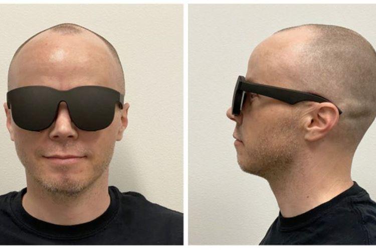 Facebook dan Ocolus mencoba membuat Headset Virtual Reality (VR) ringkas berbentuk kacamata hitam