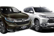 Adu Fitur SUV Baru, Pajero Sport Lokal dan CR-V Turbo