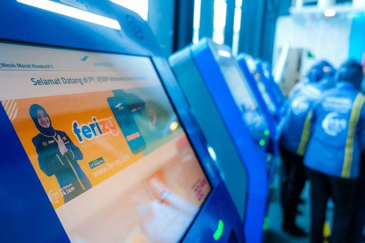 Reservasi tiket online kapal Ferry dengan menggunakan Ferizy.