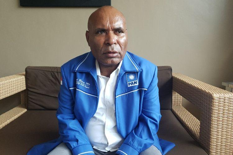 Ketua DPW PAN Papua, Abovk Busup