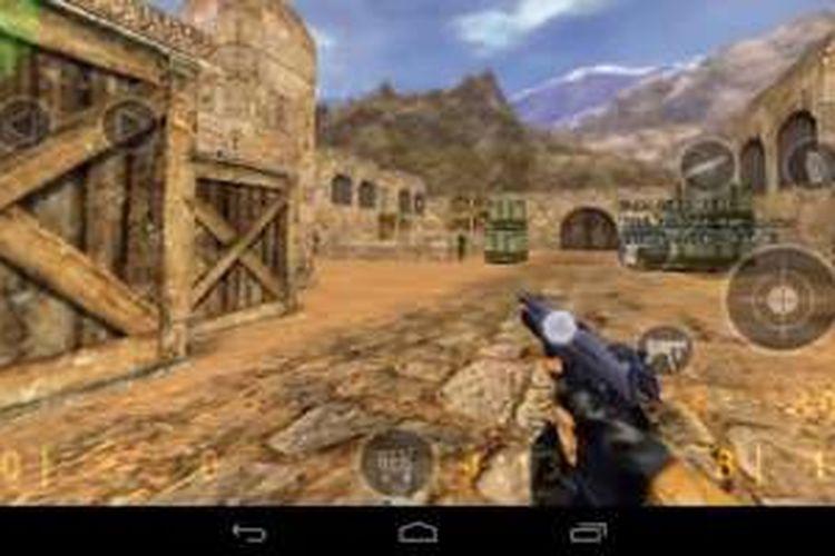 Counter Strike 1.6 kini bisa dimainkan di ponsel berbasis Android