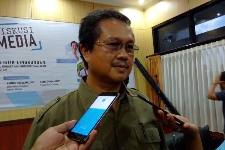 Kepala BKSDA Maluku, Muhktar Amin Ahmadi