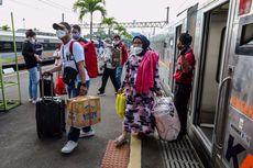 Larangan Mudik, Jumlah Kedatangan Penumpang KA Jarak Jauh Daop 1 Jakarta Turun