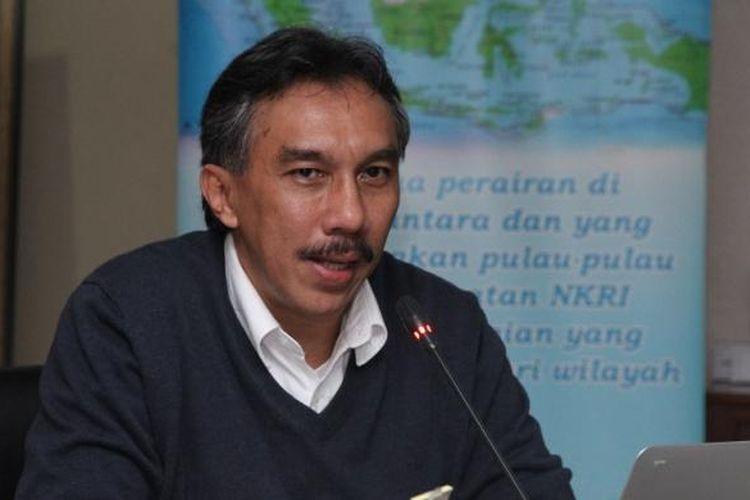 Dr.Ir Ridwan Djamaluddin, M.Sc, Deputi Bidang Infrastruktur Kementerian Koordinator Bidang Maritim