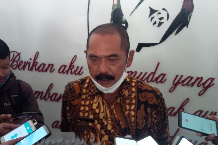 Wali Kota Solo, FX Hadi Rudyatmo di Solo, Jawa Tengah, Rabu (22/4/2020).
