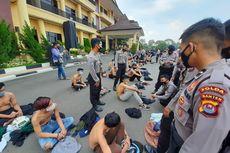 Polres Tangerang Patroli Cegah Pelajar ke Jakarta Ikut Demo Tolak UU Cipta Kerja