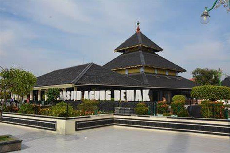 Masjid Agung Demak, Kampung Kauman, Bintoro, Demak, Jawa Tengah DOK. Dinas Pariwisata Kabupaten Demak