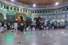 Tarawih Perdana di Masjid Raya Al Azhom Kota Tangerang, Penerapan Prokes secara Ketat