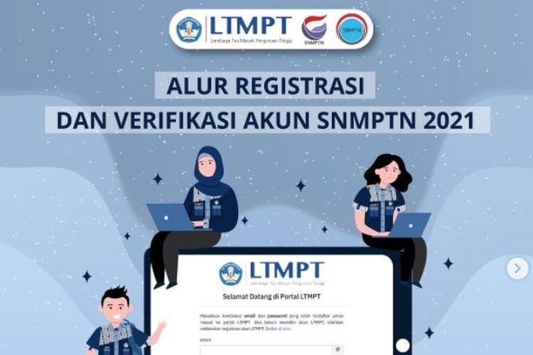 Cara Registrasi dan Verifikasi Akun SNMPTN 2021