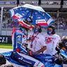 Nuansa Dirgahayu Indonesia Warnai Perjuangan Pertamina Mandalika SAG Team di Moto2 Austria