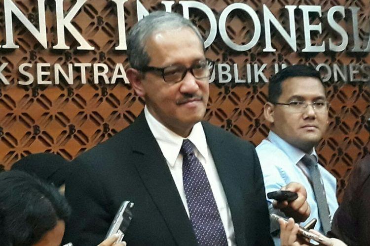 Deputi Gubernur Bank Indonesia (BI) Dody Budi Waluyo di Jakarta, Kamis (19/4/2018).