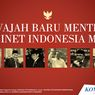 INFOGRAFIK: 6 Wajah Baru Menteri Kabinet Indonesia Maju