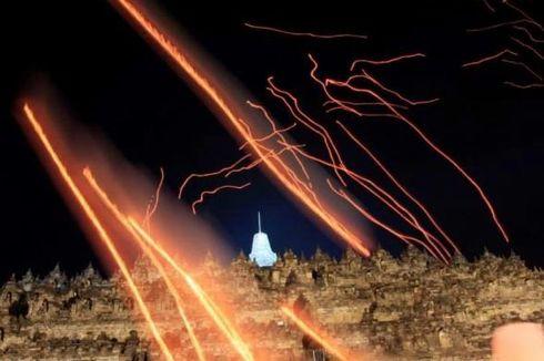 Harapan Melambung Bersama 1.000 Lampion Waisak di Candi Borobudur