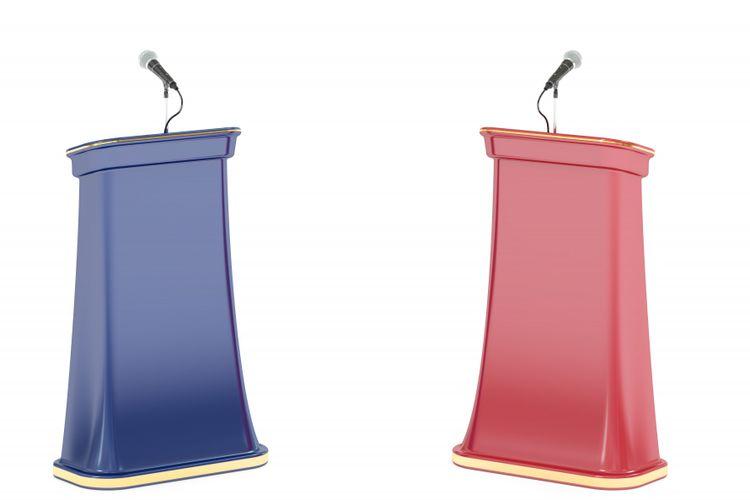 Ilustrasi debat