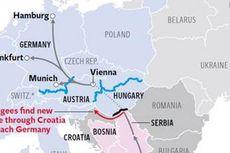Hongaria Tutup Jalur, Pengungsi Terpaksa Lalui Ladang Ranjau di Kroasia
