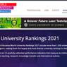 Daftar Kampus Terbaik Dunia 2021 Dirilis, Universitas di Indonesia Urutan Berapa?