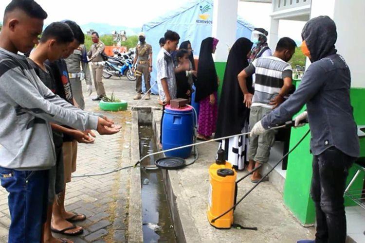 Positif Terjangkit Covid-19, TKI Asal Malaysia Diisolasi