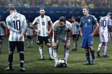 Bersama Lionel Messi, Timnas Argentina Sudah Gagal dalam 9 Turnamen