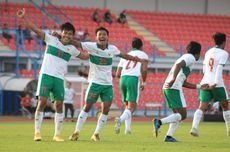 Babak I Timnas U19 Indonesia Vs Qatar, Sepakan Beckham Belum Berbuah Gol