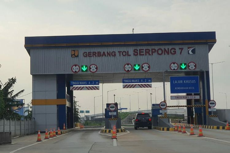 Gerbang Tol Serpong 7