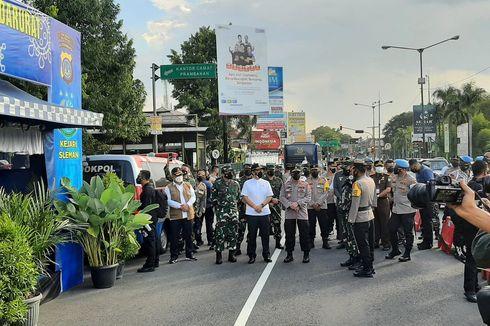 Tinjau Pos Penyekatan Prambanan Bersama Kapolri, Panglima TNI: Strategi Ini Harus Dilaksanakan