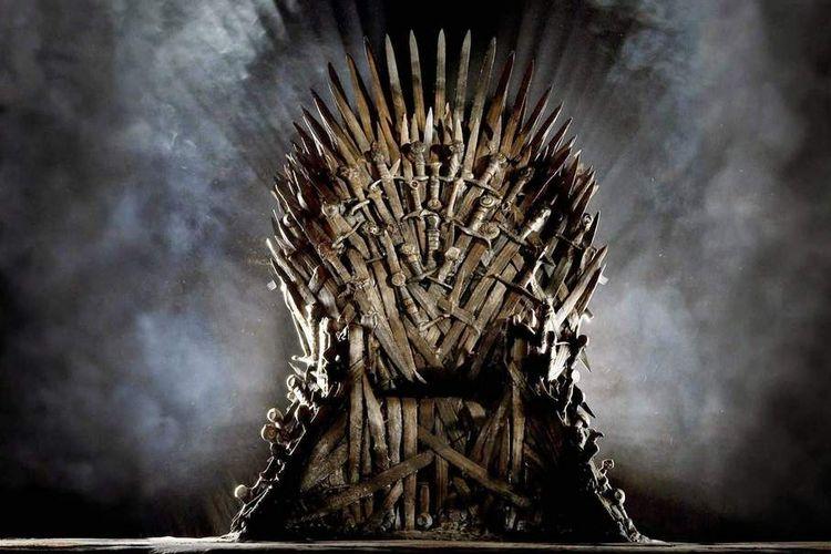 Iron Throne, singgasana yang menjadi ikon serial televisi Game of Thrones