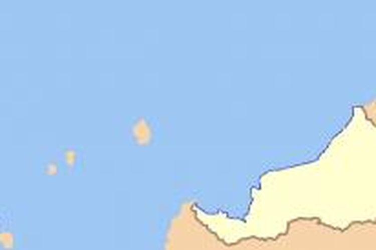 Kelantan dalam peta