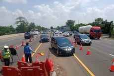 Tol Jakarta-Cikampek Macet, Contraflow Diberlakukan