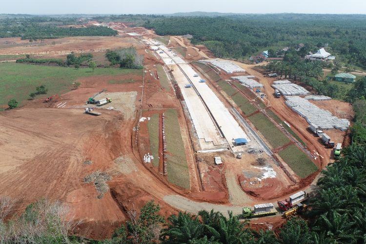 Proyek Pembangunan Jalan Tol Trans Sumatera Ruas Lubuk Linggau ? Curup ? Bengkulu Seksi 1 Bengkulu ? Taba Penanjung