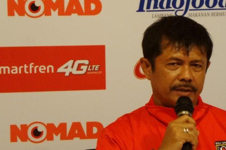 Pelatih Bali United, Indra Sjafri.
