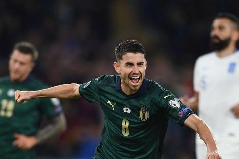 Italia Vs Yunani, Guyonan Jorginho soal Statistik Penaltinya