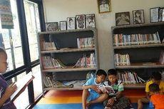 Ruang Baca di RPTRA Kembangan Dimanfaatkan oleh Anak-anak