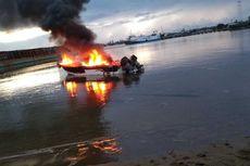 Speedboat Berisi 13 Penumpang Terbakar, Berawal dari Percikan Api di Bagian Mesin