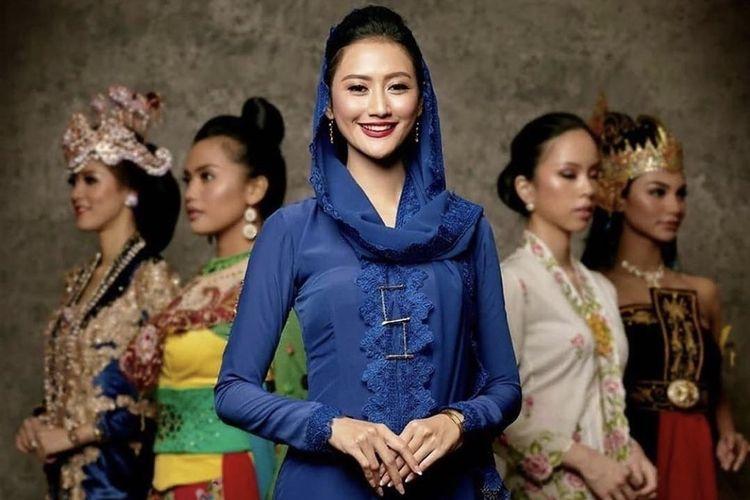 Puteri Indonesia 2020 Raden Roro Ayu Maulida Putri.