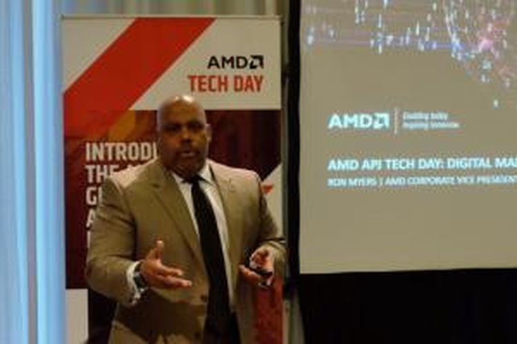 Corporate Vice President of Corporate Marketing AMD Ron Myers