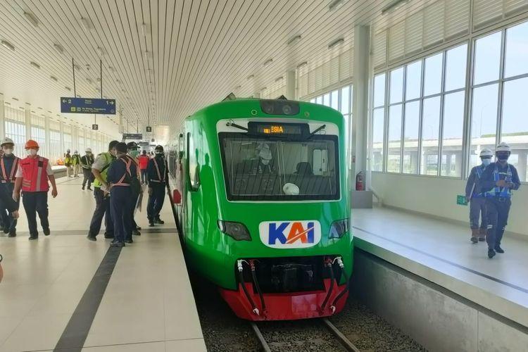 Kereta Api Bandara Yogyakarta International Airport