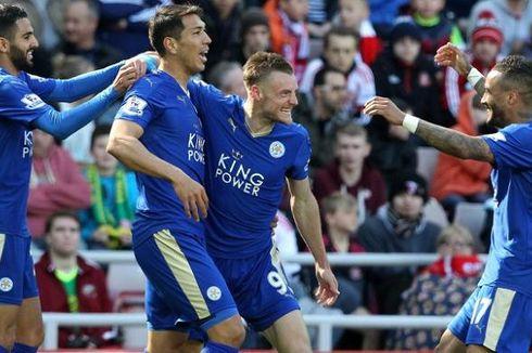 Leicester Raih Hasil Positif, Vardy Mulai Tatap Gelar Premier League