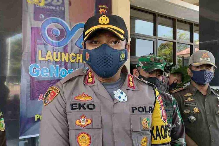 Kepala Kepolisian Resor Sumedang AKBP Eko Prasetyo Robbyanto. AAM AMINULLAH/KOMPAS.com