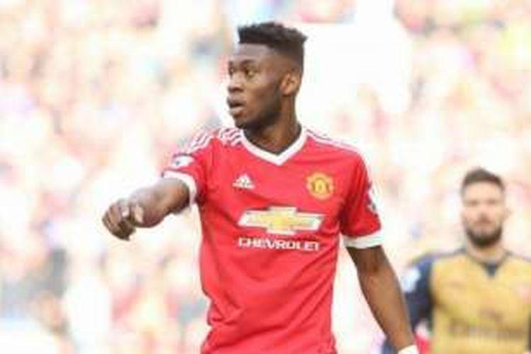 Pemain muda Manchester United, Timothy Fosu-Mensah.
