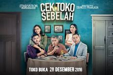 Film Seri Cek Toko Sebelah Kisahkan Ernest Prakasa Jaga Toko Sebulan