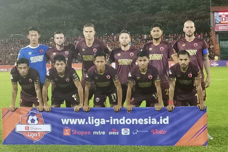 PSM Makassar dalam laga perdana Liga 1 2019 melawan Semen Padang