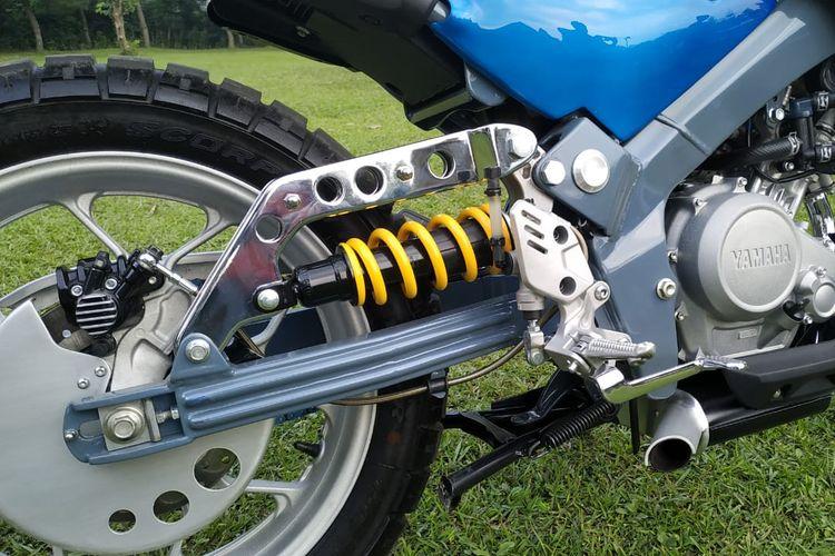 Floating suspension Yamaha XSR 155 Futuristic Scrambler besutan Yasashii Garage