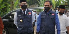 Ridwan Kamil Cek Pelaksanaan Rapid Test di Ponpes Al Falakiyah