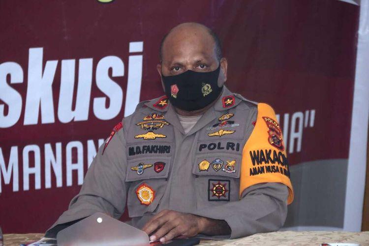 Wakapolda Papua, Brigjen Matius D. Fakhiri
