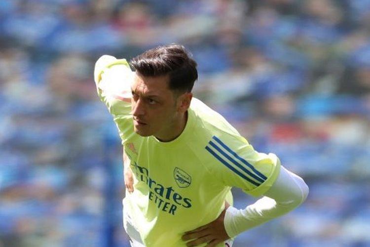 Gelandang Arsenal, Mesut Oezil.